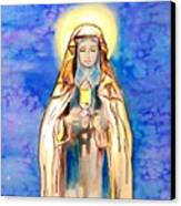 St. Clare Of Assisi Canvas Print