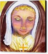 St. Clare Canvas Print by Susan  Clark