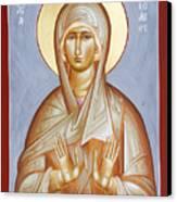 St Elizabeth Canvas Print by Julia Bridget Hayes