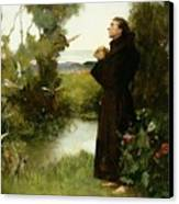 St. Francis Canvas Print by Albert Chevallier Tayler