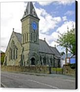 St John The Evangelist Church At Wroxall Canvas Print by Rod Johnson