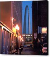 St. Louis Arch Canvas Print by Steve Karol