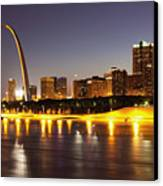 St Louis Skyline Canvas Print by Bryan Mullennix