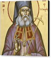 St Luke The Surgeon Of Simferopol Canvas Print by Julia Bridget Hayes