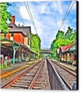 St. Martins Train Station Canvas Print