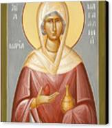 St Mary Magdalene Canvas Print by Julia Bridget Hayes