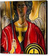 St. Michael  Canvas Print by Robert Ullmann