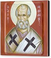 St Nicholas Of Myra Canvas Print