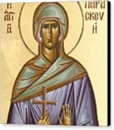 St Paraskevi Canvas Print by Julia Bridget Hayes