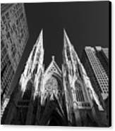 St Patrick's Cathedral  Canvas Print