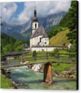 St. Sebastian Church Canvas Print