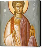 St Stephen II Canvas Print by Julia Bridget Hayes