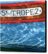St. Tropez Canvas Print by Lainie Wrightson