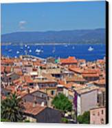 St-tropez Skyline Canvas Print by Corinne Rhode