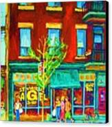 St Viateur Bagel Shop Canvas Print
