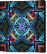 Stacked Kaleidoscope Canvas Print