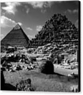 Stair Stepped Pyramids Canvas Print