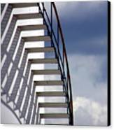 Stairs In The Sky Canvas Print by David April