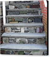 Stairs To The Plague House Canvas Print