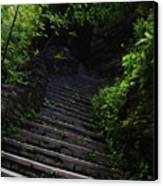 Stairway To Watkins 2 Canvas Print by InTheSane DotCom