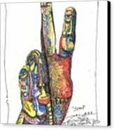 Stand Canvas Print by Robert Wolverton Jr
