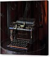 Standard Typewriter Canvas Print by Viktor Savchenko
