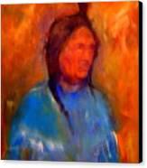 Standing Bear Canvas Print