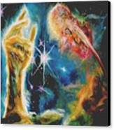 Star Clouds Lighter Version Canvas Print