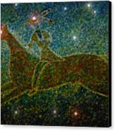 Star Rider Canvas Print by David Lee Thompson