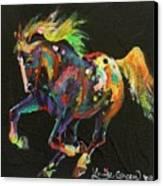 Starburst Pony Canvas Print