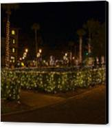 St.augustinelights1 Canvas Print by Kenneth Albin