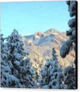 Staunton Mountain Canvas Print by Steven Michael
