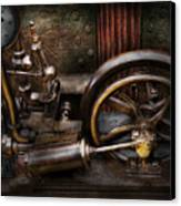 Steampunk - The Contraption Canvas Print