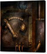 Steampunk - The Control Room  Canvas Print