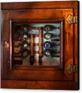 Steampunk - Electrical - The Fuse Panel Canvas Print by Mike Savad
