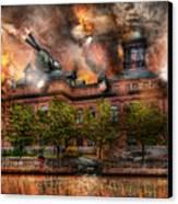 Steampunk - The War Has Begun Canvas Print