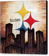 Steelers. Canvas Print by Mark M  Mellon