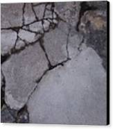 Step On A Crack 3 Canvas Print by Anna Villarreal Garbis