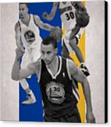 Stephen Curry Golden State Warriors Canvas Print