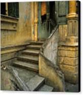 Steps. Canvas Print by Tarek Charara