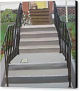 Steps To Recovery Canvas Print by Lisa Urankar