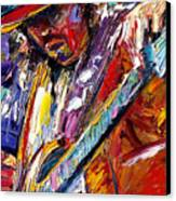 Stevie Ray Vaughan Number One Canvas Print