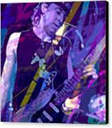 Stevie Ray Vaughan Sustain Canvas Print