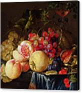 Still Life Canvas Print by Cornelis de Heem