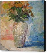 Still Life Flowers Canvas Print