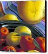 Still Life With Citrus Canvas Print