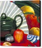 Still Life With Citrus Still Life Canvas Print