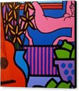 Still Life With Matisse  II Canvas Print