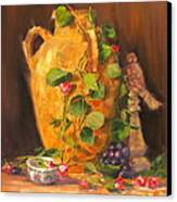 Still Life With Urn Canvas Print