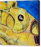 Stillmans Nylon Glove Canvas Print